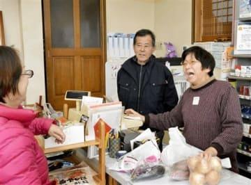 愛されて130年、老舗に幕 宇土市の「芥川商店」20日に閉店