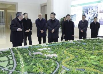 習近平氏、北京·天津·河北視察 協同発展座談会開く