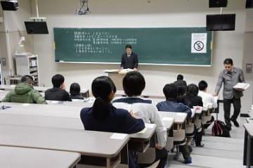 大学入試センター試験始まる 沖縄県内6015人が挑戦 試験問題、解答はニュースサイト「47NEWS」に掲載