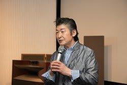 講演を行う福田雅光氏