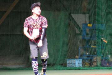 キャッチボールを行った西武・高橋朋己【写真:安藤かなみ】