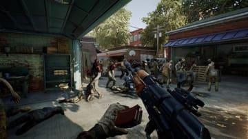 「OVERKILL's The Walking Dead」のゲーム画面