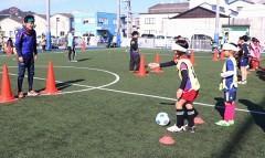 玉野でブラインドサッカー体験会