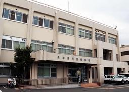 兵庫県警川西署=川西市丸の内町1