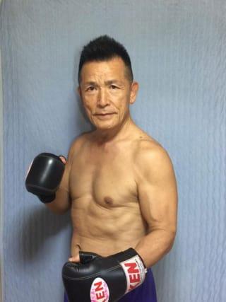 74歳にしてアマチュアキックボクシングの試合に挑む山口