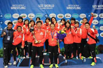 昨年のU23世界選手権で団体優勝した女子チーム