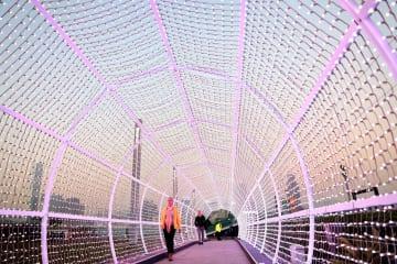 「国際ライトアップアート展」がまもなく開幕 香港