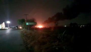 メキシコ中部で石油パイプライン爆発 20人死亡