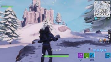 『フォートナイト』アイスキングによってマップ全域が雪に覆われる!一度だけのイベントで