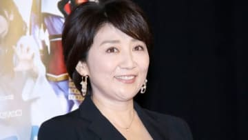 連続ドラマ「トクサツガガガ」の会見に登場した松下由樹さん