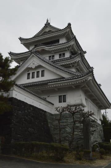 川島城4月から休館 耐震不足 来館者の安全優先