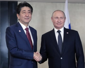 北方領土 ロシア プーチン 日露 交渉 日露講和条約 安倍 2島返還 4島一括