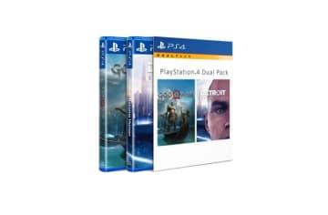 PS4人気ゲーム2作品をまとめた「デュアルパック」が海外で発売中―『GoW』+『Detroit』など
