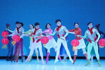 中国中央バレエ団、シンガポールで「過年」を上演