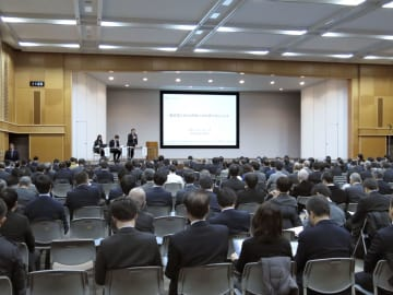 外国人材の新制度に関する説明会=21日午前、経産省