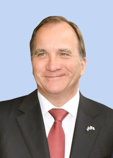 スウェーデンのロベーン首相