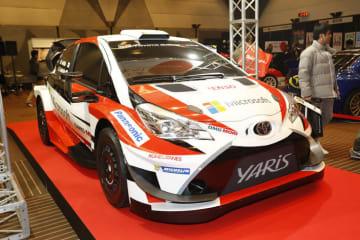 WRCパーク 東京オートサロン2019 出展ブース ヤリスWRC