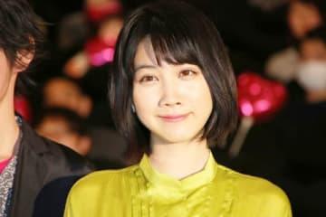 映画「チワワちゃん」の公開記念舞台あいさつに登場した松本穂香さん