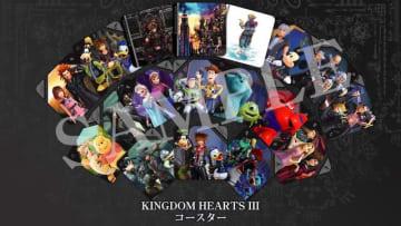 『キングダム ハーツIII』カフェ2月2日より開催決定!キャンペーンメニューの提供や限定グッズの販売を予定
