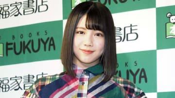 ファースト写真集「陽だまり」のイベントに登場した「けやき坂46」の渡邉美穂さん
