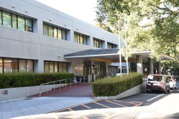 ノロウイルスによる食中毒が発生した県南病院=21日午後、串間市西方(画像は一部加工しています)