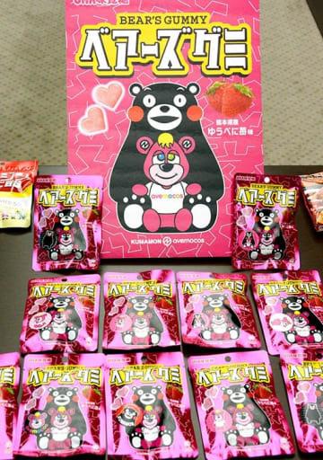UHA味覚糖が発売した県産ゆうべにを使ったグミ