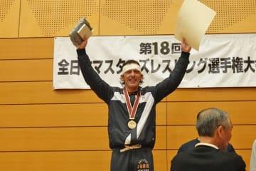 元ベテランズ世界王者を破って2連覇達成のアントニオ・カランドラさん