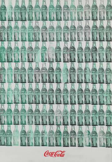 初期の作品。Andy Warhol (1928-1987), Green Coca-Cola Bottles, 1962. © 2017 The Andy Warhol Foundation for the visual Arts, Inc./ Artists Rights Society (ARS), N.Y.