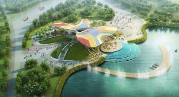 北京園芸博、「緑の生活」をテーマに4月開幕