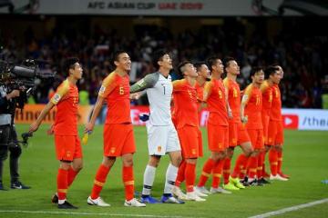 ベスト8に駒を進めた中国代表 photo/Getty Images