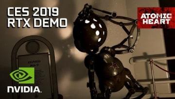 異世界ソ連FPS『Atomic Heart』日本語字幕付きRTX技術デモ映像! リアルタイムレイトレーシング披露