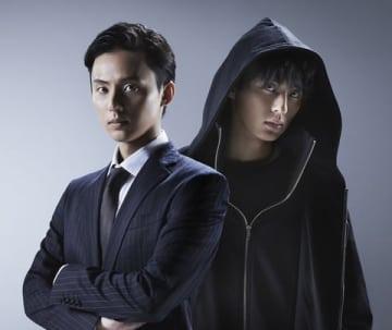 連続ドラマ「ミラー・ツインズ」で一人2役で主演を務める藤ヶ谷太輔さん