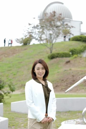 酒井美紀と『4月の君、スピカ。』が撮影された小川天文台 - (C) 2019 杉山美和子・小学館/「4 月の君、スピカ。」製作委員会