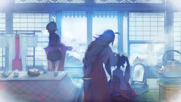 ディライトワークス 第6制作部「ミラクルポジティブスタジオ」の第1弾ゲームタイトルを2月5日に発表─巫女姿の少女が眩しいビジュアルも公開