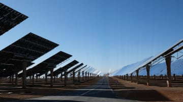 中国企業のモロッコ太陽熱発電所プロジェクト