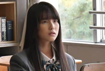 TBS系連続ドラマ「初めて恋をした日に読む話」でヒロインの高校生時代を演じる永田凜 - (C)TBS