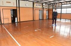 剣道場をコーヒー焙煎場に改装