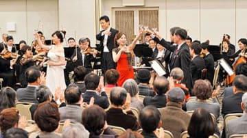 4月から常任指揮者、阪哲朗さんお披露目 山響ニューイヤーコンサート、ゲストにシュガーシスターズ