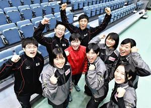 いざ出陣!銀盤の戦士 福島県選手ら気合十分、高校総体スケート