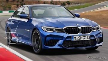 BMW M3セダン 新型 予想CG