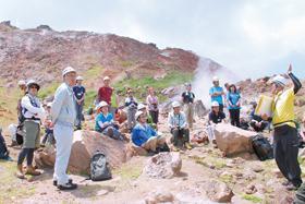 壮瞥の登山学習会「ジオツアー」が未来遺産に登録
