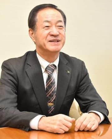 景観活用、人呼び込む 三川町長、5期目の阿部氏に聞く