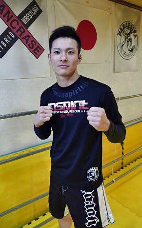 総合格闘技「パンクラス」でプロデビュー、3月の2戦目に向けて闘志を燃やす上野選手