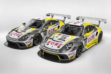 GT3の強豪ローヴェ・レーシングがポルシェ911 GT3 Rでスパ24時間に参戦へ