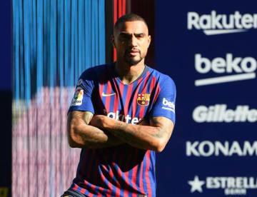 バルセロナの一員となったボアテング photo/Getty Images