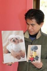 岡山で2月にペット犬の撮影会