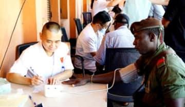 アフリカで1800人以上を治療 中国人医師が帰国