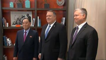 米・ポンペオ長官、米朝協議で「進展」 北朝鮮の担当が交代