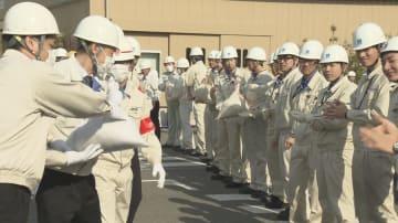 阪神淡路大震災の経験を教訓に 三ツ星ベルトで防災訓練