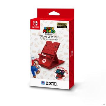 マリオとスプラトゥーン2がデザインされた2種類の「プレイスタンド for Nintendo Switch」が3月に発売!